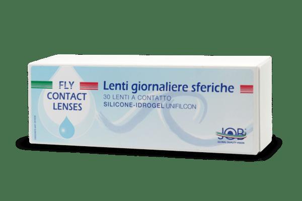 Lenti a contatto giornaliere Fly Contact silicone idrogel sferiche