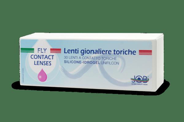 Lenti a contatto giornaliere Fly Contact silicone idrogel toriche