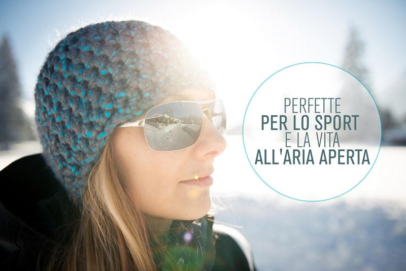 Lenti polarizzate Roman Optica ideali per lo sport e la vita all'aria aperta